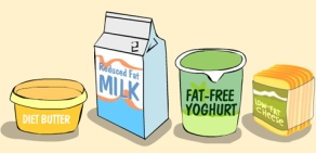 Diet-and-fat-free-dairy
